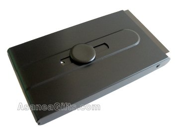 BUSINESS CARD CASE / BUSINESS CARD HOLDER - BLACK ECBCH-A2003