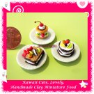 YUMMY PASTRY BAKERY SET - DOLLHOUSE MINIATURE FOOD FOR COLLECTORS ECDMF-MP2002