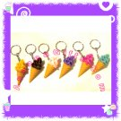 FOOD JEWELRY - ICE CREAM DESSERT PENDANT CHARM