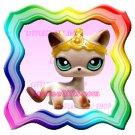 NEW ! LITTLEST PET SHOP AROUND THE WORLD LOOSE FIGURE - EGYPT SIAMESE CAT # 391