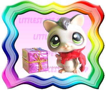 LITTLEST PET SHOP LOOSE FIGURE - HALLOWEEN SUGAR GLIDER BAT # 432 FREE MINI TOY GIFT ! BRAND NEW
