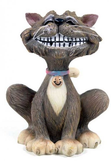 Cats Whiskers Collectable Figure - Smiling Cheshire Cat