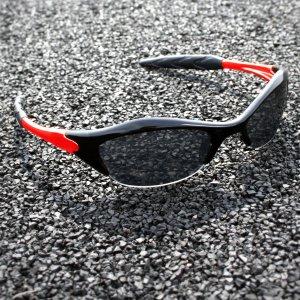 Half-frame   BLACK + RED