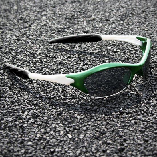 Half-frame | GREEN + PEARL + BLACK