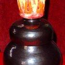 Pewter Flame Pot