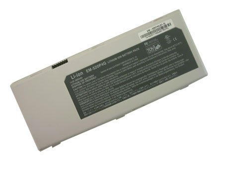 brand new EM-520C1  battery for ALPHATOP Green 552 ECS A531 HYPERDATA G550