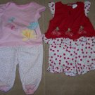Lot/2 Outfits GYMBOREE Tiny Pond Set + GC Outfit Sz 18M