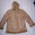 Girls 4 In 1 PROTECTION SYSTEM Coat Tan L 14