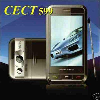 CECT 599 dual band dual sim card mobile phone unlocked