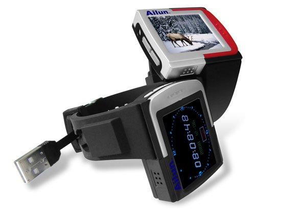 1GB MP4 Watch AD868 TFT Video MP3 Player FM & Rec [AD868]