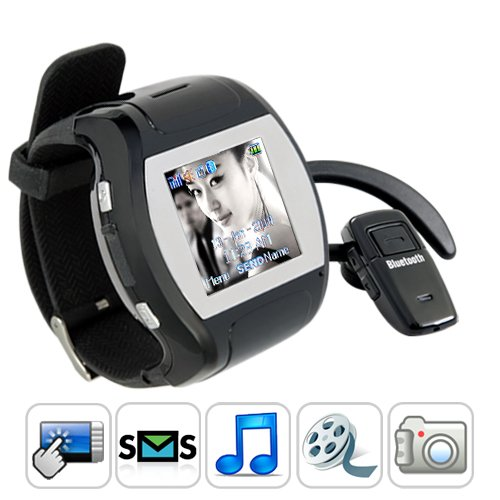 SB04 Quad Band Touch Screen Watch Cell Phone