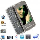 3.0 Inch Touch Screen Sideslip Quadband Mobile Phone with JAVA and Full Keyboard