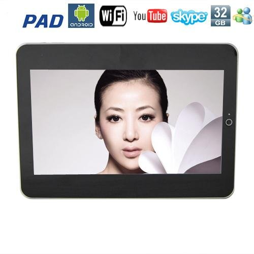 10.1 Inch touch screen Google Android 1.5 Apad Laptop