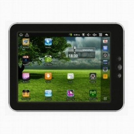 VR0007 8 inch Android 2.2 Tablet PC with WIFI