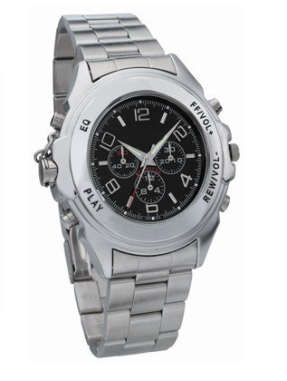 Free shipping Brand New 2GB MP3 USB watch with Voice recorder