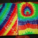 Tye Dye Adult Tee Shirts Lot of 2 Size Large