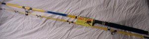 Eagle Claw 8' Spinning Fishing Rod W/FREE Line