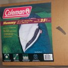 Colman Mummy sleeping bag  good down to 25 degree