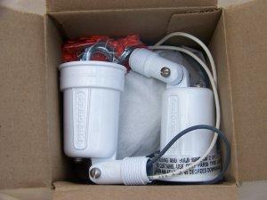 progress two light floodlamp holder