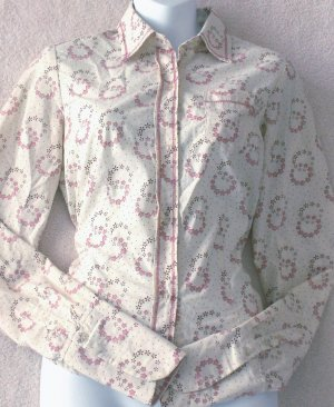 FREE PEOPLE  Womens print blouse  Size small