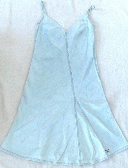 NEW  DIESEL  Juniors lightweight denim dress Size large
