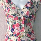 ODILLE  Womens floral print top  Size small