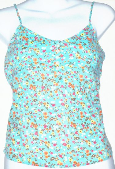 AEROPOSTALE  Womens/Juniors floral print tank top  Size small