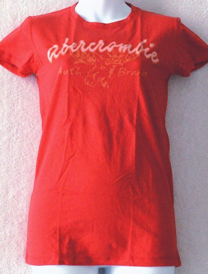 ABERCROMBIE & FITCH  Womens/Juniors logo T-shirt  Size small