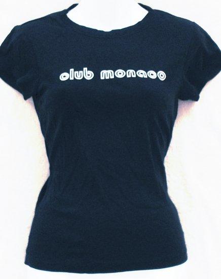 CLUB MONACO  Womens/Juniors logo T-shirt  Size medium