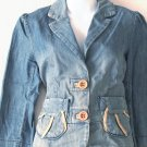 MIMO  Juniors denim blazer-style jacket  Size large
