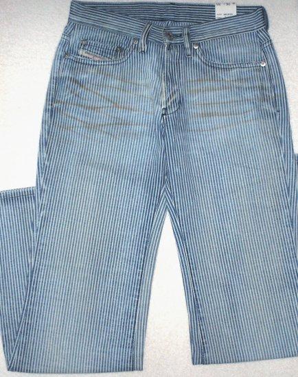 NEW  DIESEL  Womens pinkstriped jeans  Size 26