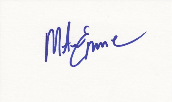 Mike Eruzione Autograph Signed! 1980 USA Olympic Gold