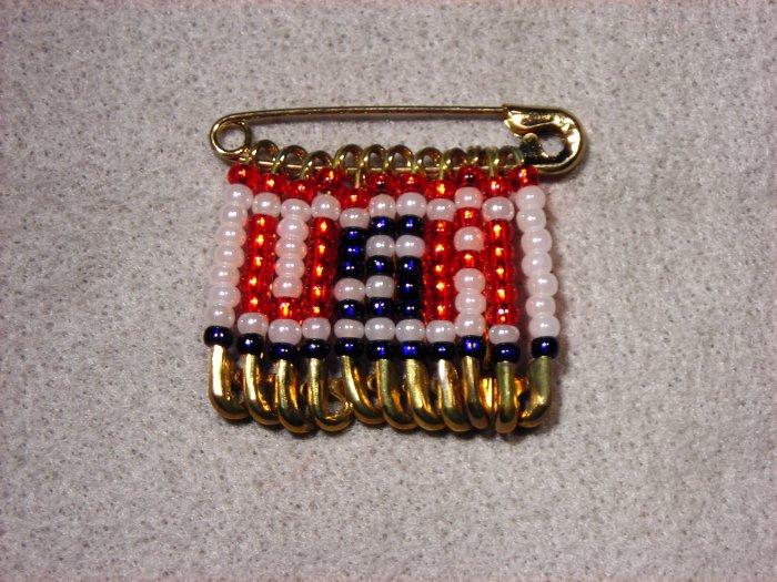 LC805F - Large Patriotic Friendship Pin
