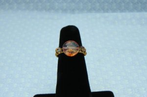 LC998R - Cracked Coral Ring