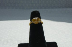 LC997R - Gold and White ring