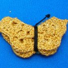 LC629BP - Gold Butterfly Pin
