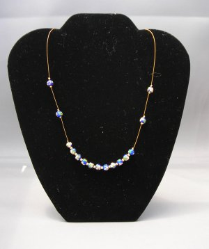 LC947N - Cloisonne Beaded Necklace