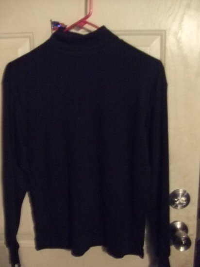 Gently Worn Black Turtleneck Children's Size Large