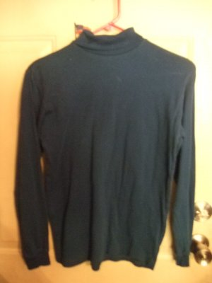 Gently Worn Blue Tutleneck Children's Size 16