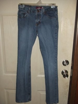Like New Jordache Girl's Lo-Rise Stretch Jeans Size 16 Slim