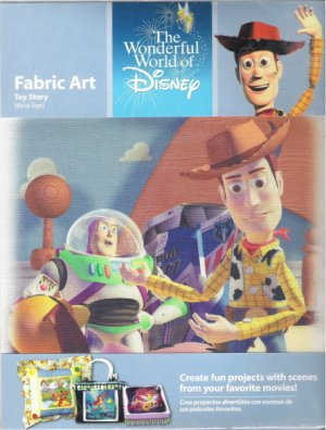 Toy Story Fabric Art We're Toys!