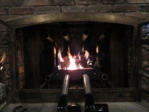82,600 BTU Fireplace Furnaces - Wood Burning Fireplace Grate Heater Hearth Heat Exchanger w/Blower