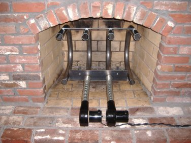 Fireplace Furnaces - 82,600 BTU Wood Burning Fireplace Grate Heater Hearth Heat Exchanger w/Blowers
