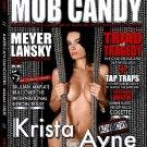 MOB CANDY MAGAZINE Original Poster * KRISTA AYNE * 2' x 3' New Rare 2008