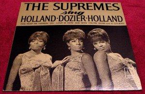 The Supremes * HOLLAND DOZIER HOLLAND * Original LP Rare 1966 Mint