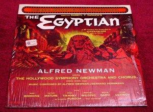 THE EGYPTIAN Original Soundtrack LP Alfred Newman / Bernard Herrman ShrinkWrap 1954 Re-Master MINT