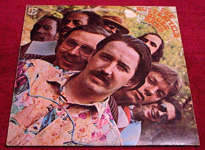 Paul Butterfield Blues Band * KEEP ON MOVING * Original LP Rare 1969 Mint