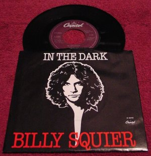 Billy Squier * IN THE DARK * Original 45rpm with Picture Sleeve 1981 Mint