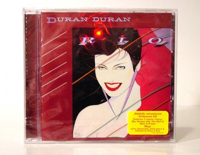 Duran Duran * RIO * Original CD ReMastered & Enhanced with VIDEOs New SEALED
