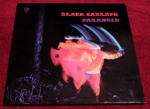 Ozzy Osbourne & Black Sabbath * PARANOID * Original GateFold LP 1971 MINT